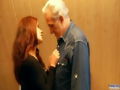 redhead concupiscent babe awards generous older