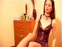 a session beneath femdom-goddess arellas feet