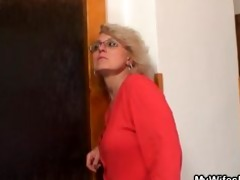 wife finds him fucking her old mama and acquires