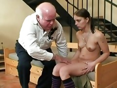 old older man fucking youthful honey