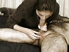 bitch engulfing big chubby pecker