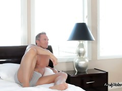 hot aged babe wishes a concupiscent dad loving