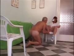 mature chap bonks juvenile nurse