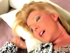 granny drilled by younger fellow