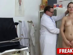 hawt tarya king and old gynecologist