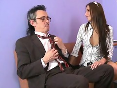 alluring anal invasion with teacher