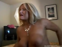 lovely aged golden-haired roxy t live without to