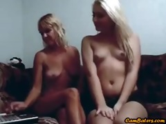blond mother and not her daughter play on web