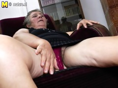 old grandma bonks two younger lesbian babes